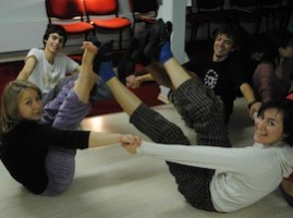"Training Course ""Contact Improvisation- Dance or Communication skill?"" Viljandi, Estonia"