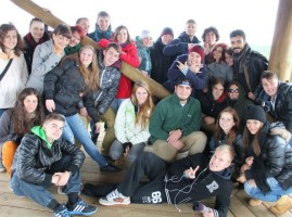 """Youth Exchange """" I'am European – that's my place to be"""