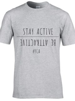 "T-shirt ""stay active"""